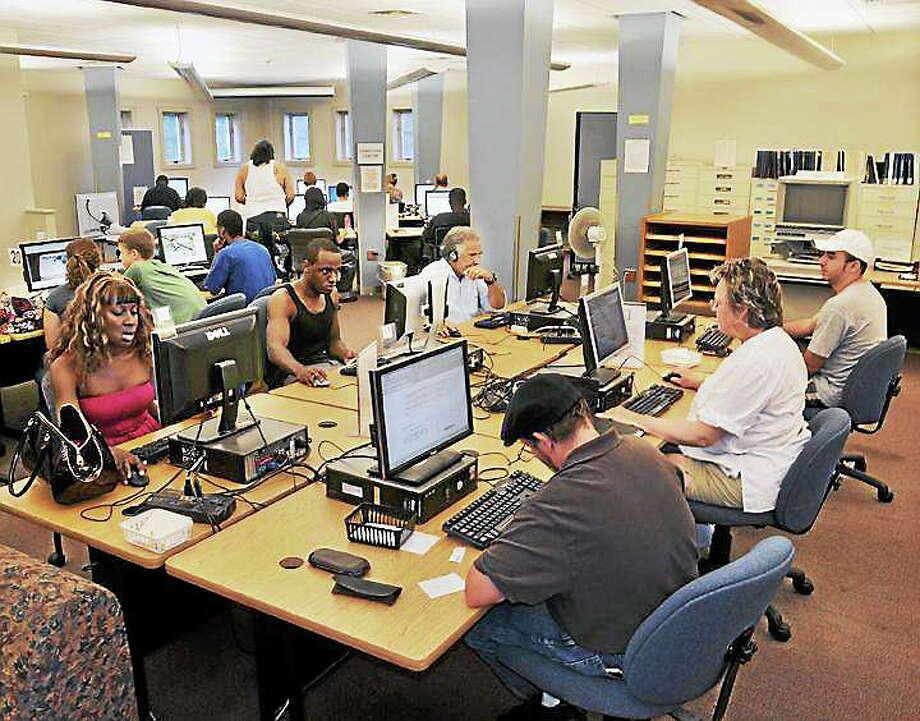 Viktoria Sundqvist - The Middletown Press Russell Library in Middletown Photo: Journal Register Co.