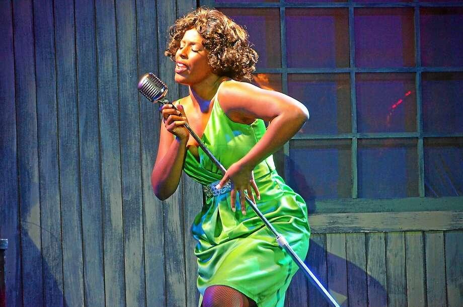 """Photo courtesy of Ivoryton Playhouse Renee Jackson is Felicia Farrell in """"Memphis"""" at the Ivoryton Playhouse. Photo: Journal Register Co. / 29 Blake Street,  Ivoryton CT 06442"""