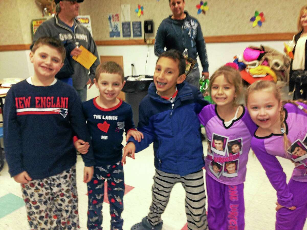 Farm Hill Elementary's Family Literacy Night brought 64 students and their parents to the school to celebrate Dr. Seuss and reading.