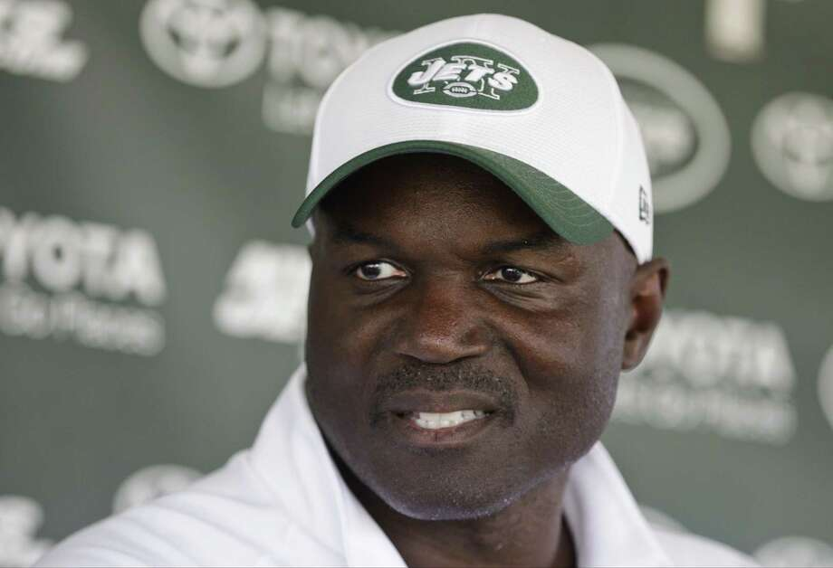 New York Jets head coach Todd Bowles responds to questions during a news conference last week in Florham Park, N.J. Photo: Frank Franklin II — The Associated Press  / AP