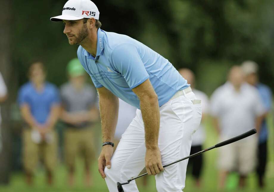 Dustin Johnson will not be able to ground his club in the same bunker at Whistling Straits that cost him in the 2010 PGA Championship as it has been covered up by a viewing area. The PGA Championship returns to the Wisconsin course along Lake Michigan. Photo: Tony Dejak — The Associated Press  / AP