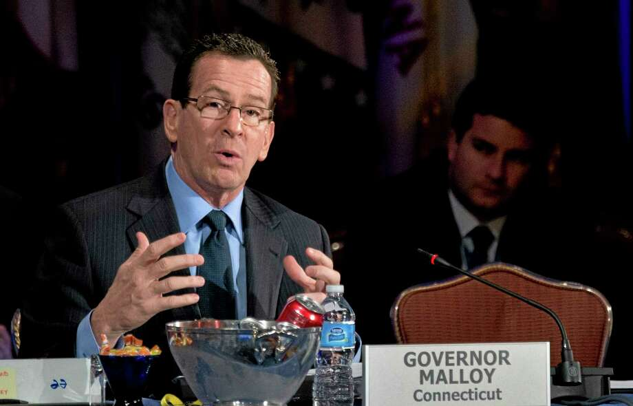 Connecticut Gov. Dan Malloy speaks during a special session of the National Governors Association 2013 Winter Meeting in Washington on Feb. 24, 2013. Photo: AP Photo  / AP