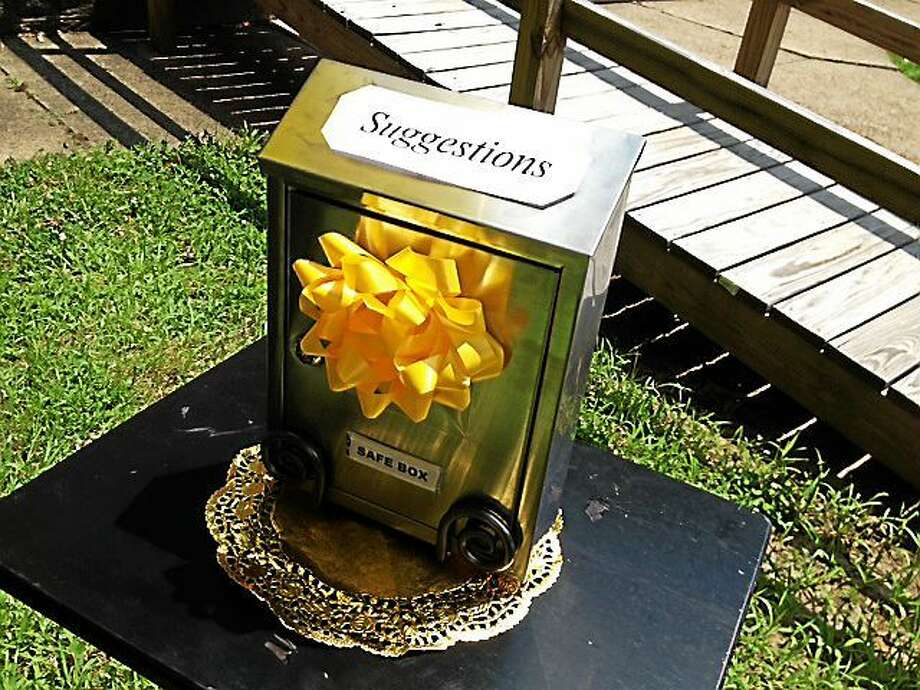 A brand-new Safe Box is offered for people to put suggestions, crime tips and prayers, keeping them anonymous. Photo: Trentonian File Photo