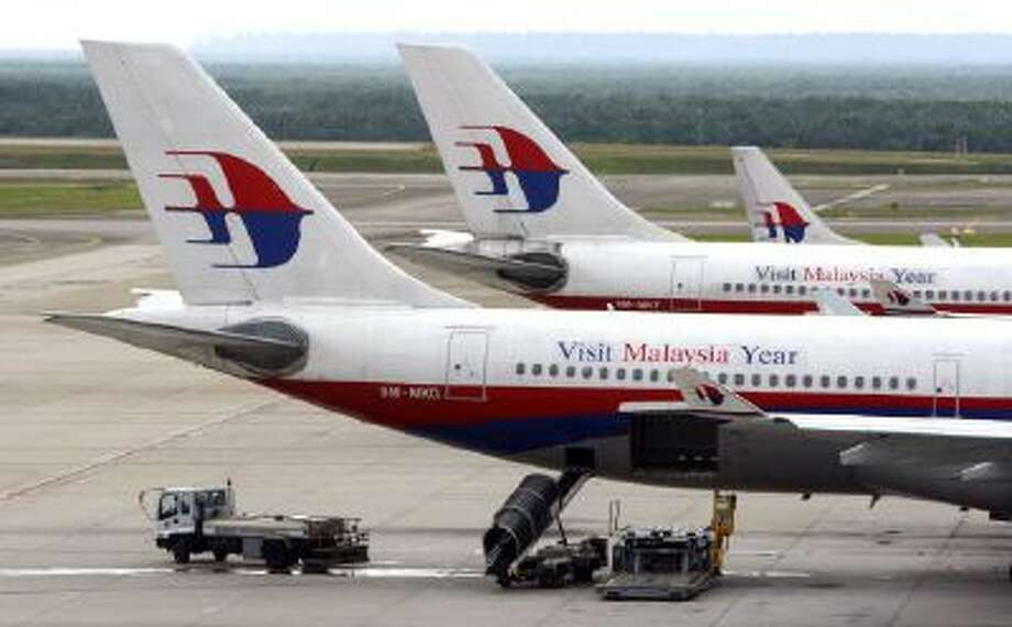 Malaysian Airlines planes.