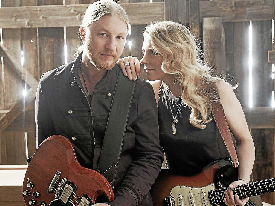 Photo courtesy of the artists The Tedeschi Trucks Band is set to perform night (Thursday, Aug. 14) outdoors, Simsbury Meadows in Simsbury. Formed in 2010 by husband and wife Susan Tedeschi and Derek Trucks, and featuring two harmony singers, a three-piece horn section, keyboards, bass and a pair of drummers, TTB disproves the adage that ìless is more,î while building a devoted following of fans and critics alike. The band is now touring in support of its second studio effort, ìMade Up Mind,î which entered the Billboard 200 at #11 and was hailed by Rolling Stone as ìequal parts Stax and Muscle Shoals without dilution of either.î Photo: Journal Register Co.