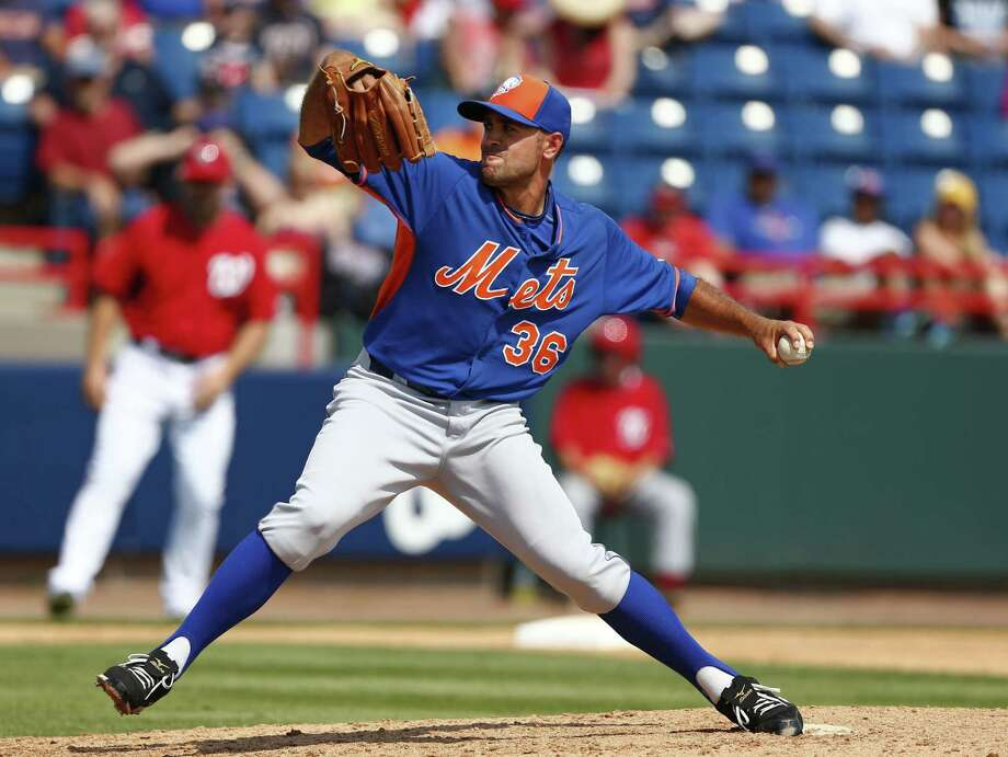 New York Mets reliever Sean Gilmartin will make the opening day roster. Photo: John Bazemore — The Associated Press  / AP