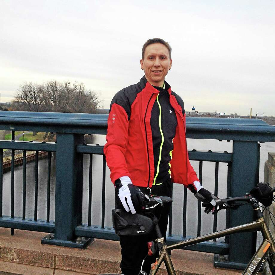 Portland resident Chad Wilson is training now for next June's Ride to Conquer Cancer, in which athletes cycle from Manhattan to Upstate New York and back again. Photo: Courtesy The Ride To Conquer Cancer