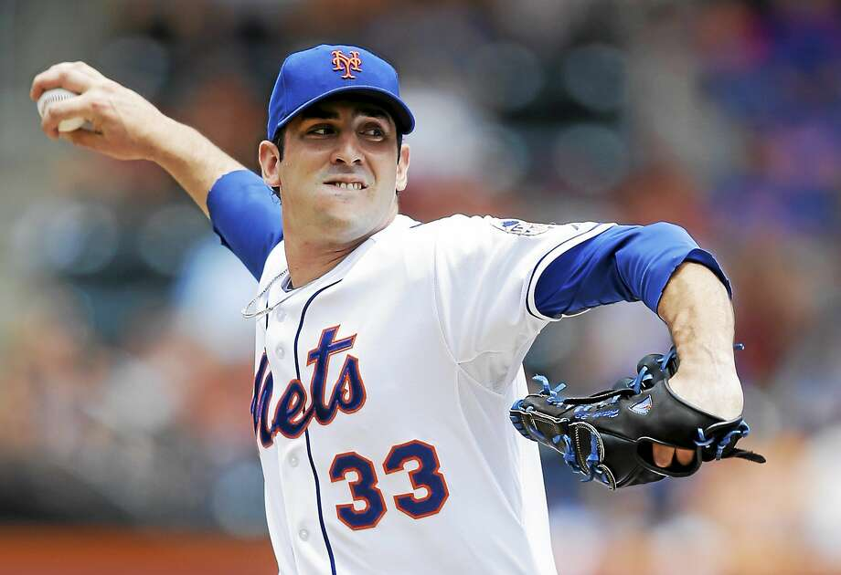 Mets starter Matt Harvey winds up against the Philadelphia Phillies on July 21, 2013 in New York. Photo: Kathy Willens — The Associated Press File Photo  / AP2013