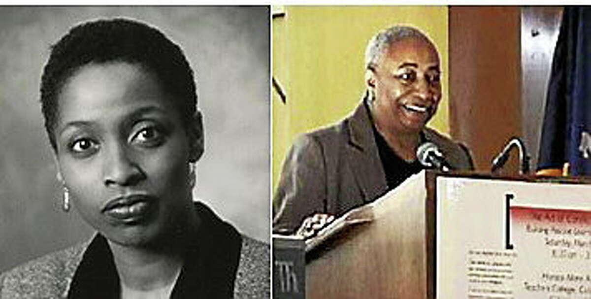 Wesleyan University Professor Lois Brown and civil rights activist Muriel Tillinghast