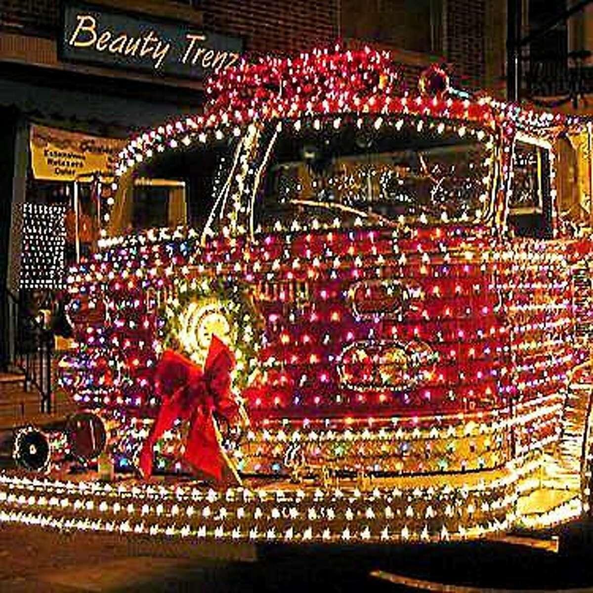Portland's holiday light parade and tree lighting takes place Sunday.