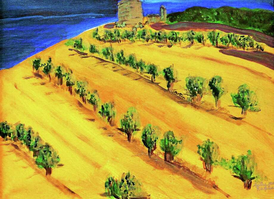 "Sally Jessy Raphael's ""Provence Vineyard"" Photo: Journal Register Co."