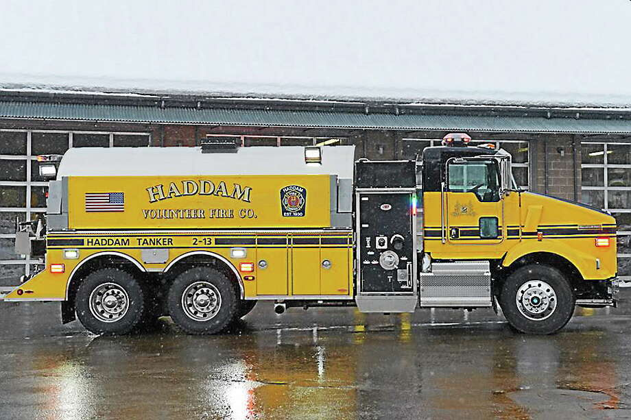 Olivia Drake - Special to the Press. Haddam Volunteer Fire Photo: Journal Register Co.