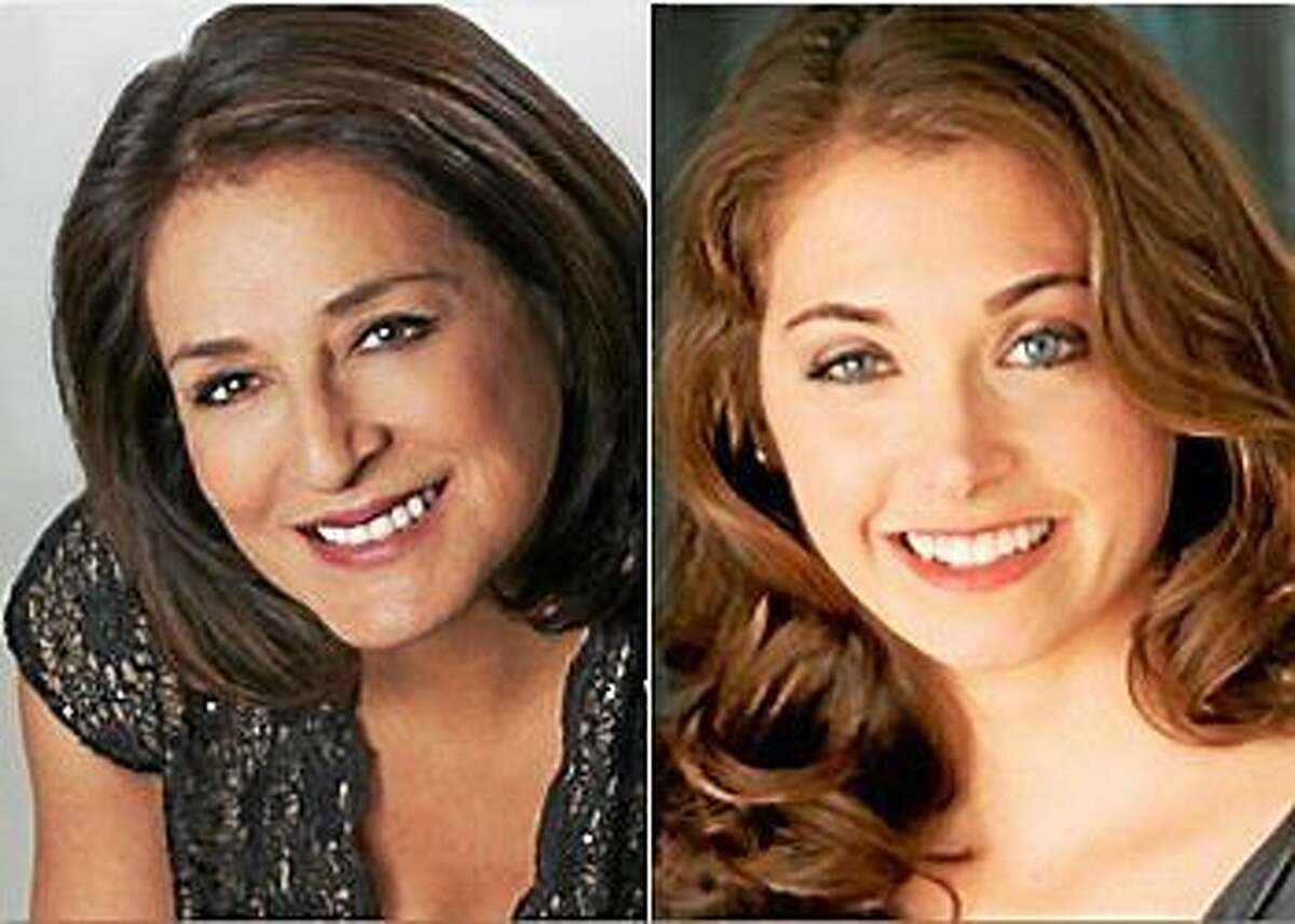 Submitted photos Soloists iperforming with Capella Cantorum on Dec. 7 are soprano Patricia Schuman, left, and contralto Heather Petrie, right.