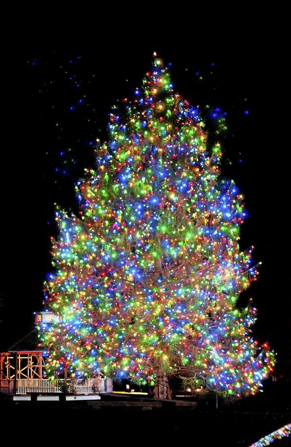 Submitted photo The tree is back, and will be part of the Ivoryton Illuminations celebration in Ivoryton Saturday, Dec. 6. Photo: Journal Register Co. / Copyright,