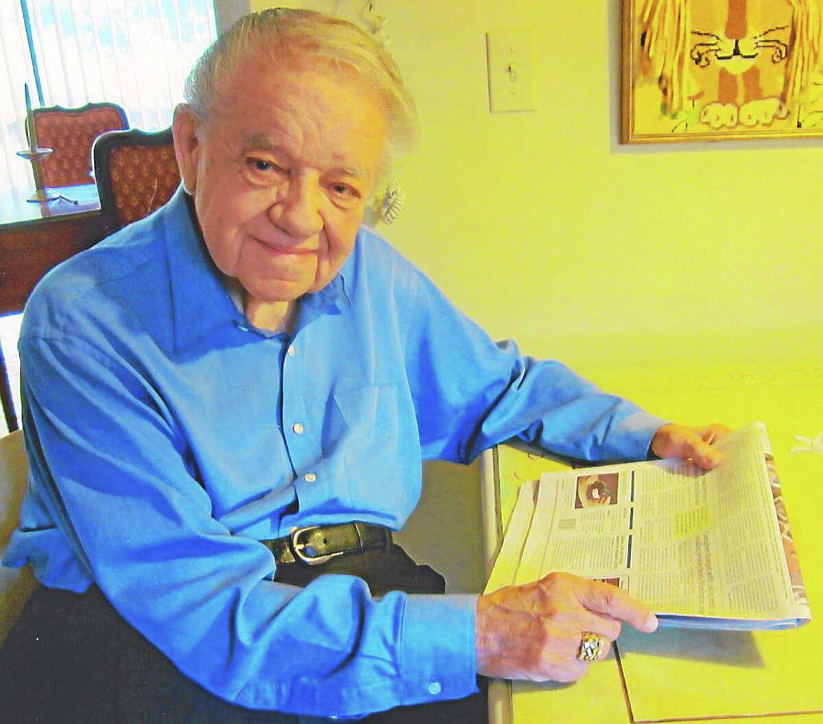 Henry Josten, former reporter for the Middletown Press