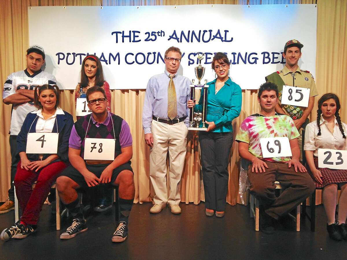 Photo courtesy of Ivoryton Playhouse The 25th Annual Putnam County Spelling Bee is performing now at the Ivoryton Playhouse.