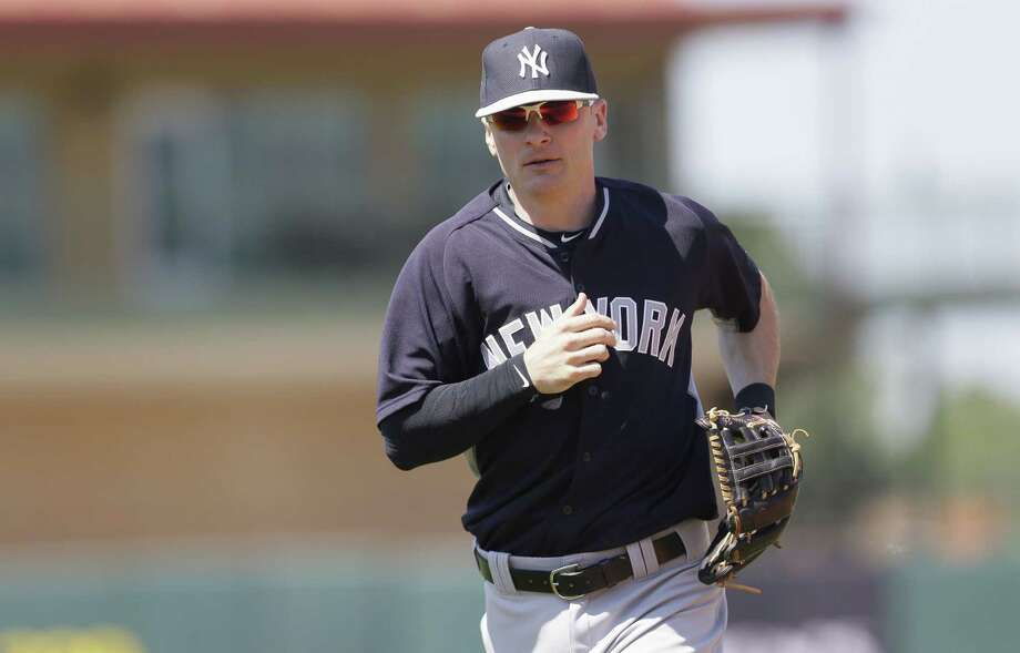 New York Yankees shortstop Brendan Ryan will miss the first month of the season. Photo: Carlos Osorio — The Associated Press  / AP