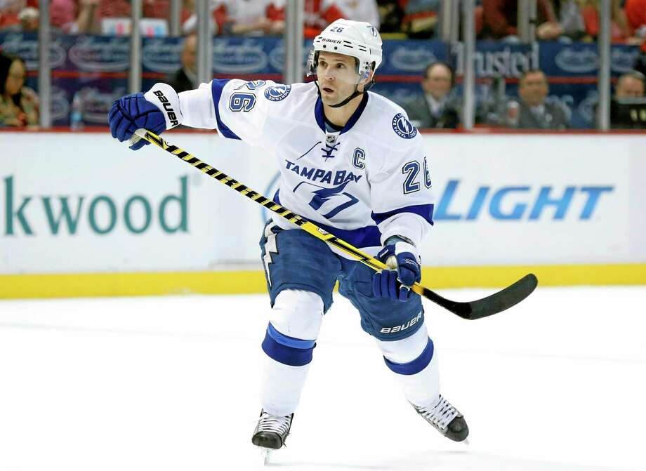 The New York Rangers acquired Tampa Bay Lightning right wing Martin St. Louis on Wednesday in exchange for Ryan Callahan. Photo: Paul Sancya — The Associated Press  / AP