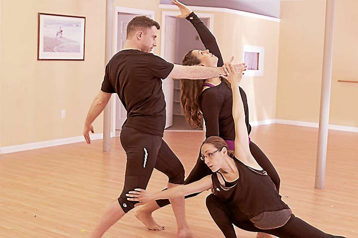 Contributed photo River Valley Dance members rehearse for their upcoming performances in Deep River.