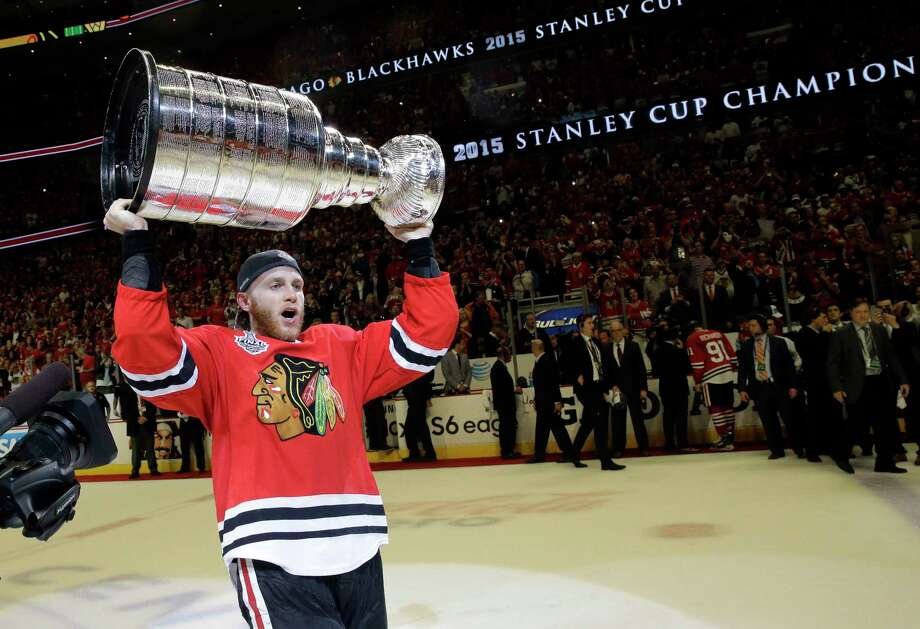 """The NHL says it is """"following developments"""" of a police investigation involving Chicago Blackhawks star Patrick Kane. Photo: Nam Y. Huh — The Associated Press File Photo  / AP"""