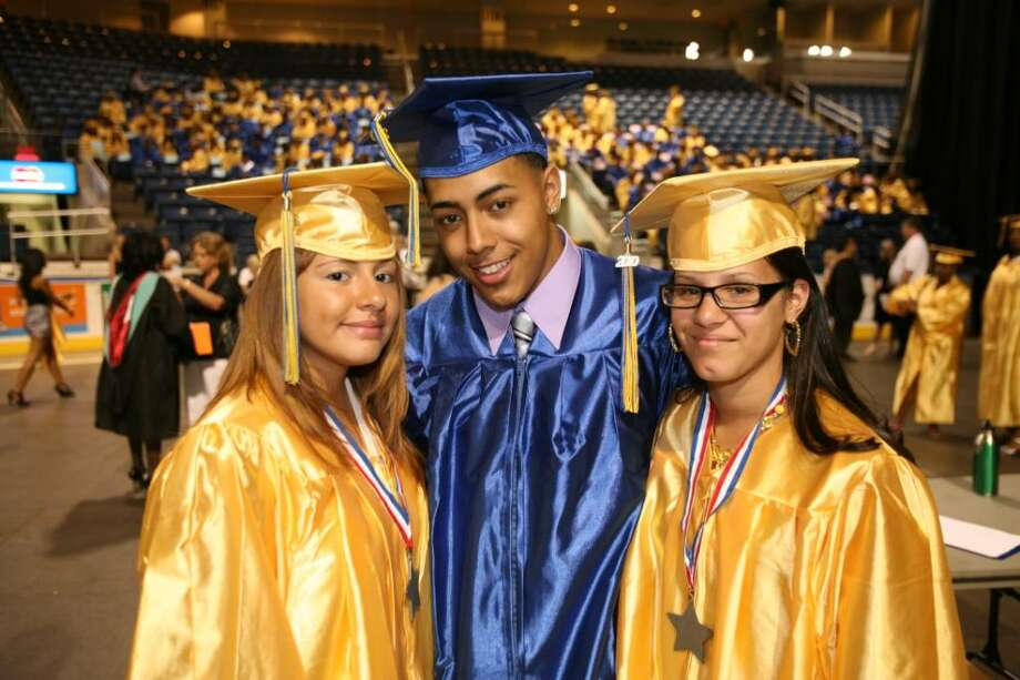 The Harding High School graduation at the Arena at Harbor Yard in Bridgeport on Thursday, June 17, 2010. Photo: Brian A. Pounds / Connecticut Post