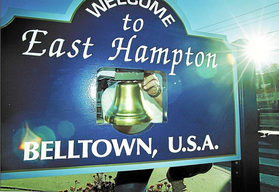 The East Hampton town councilor and manager have met with Connecticut Light & Power officials and told them they are not ready to accept the utility's offer to purchase town hall. Photo: File Photo