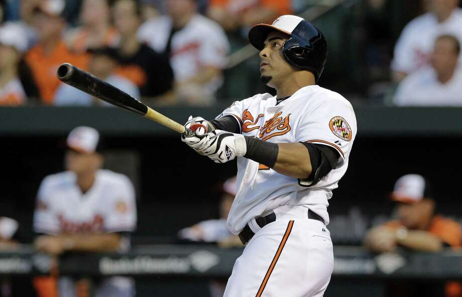The Mariners and free agent slugger Nelson Cruz are nearing agreement on a contact that would give Seattle the right-handed bat it has sought. Photo: The Associated Press File Photo  / AP