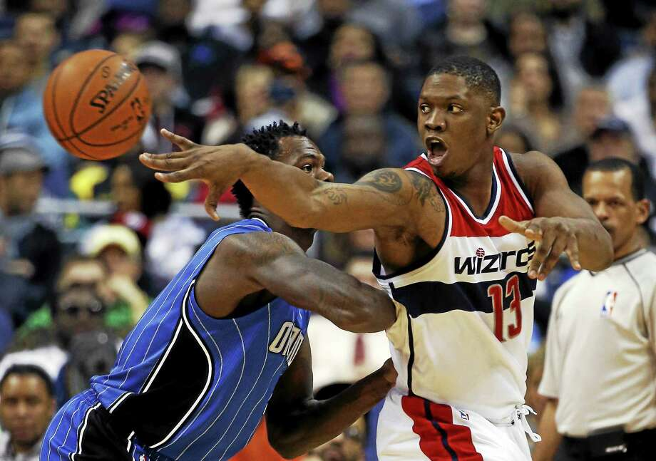 The New York Knicks have signed forward/center Kevin Seraphin. Photo: Alex Brandon — The Associated Press File Photo  / AP