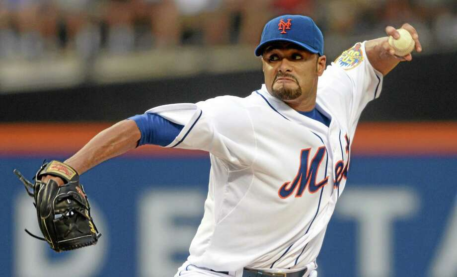 Two-time AL Cy Young Award winner Johan Santana has agreed to a minor league contract with the Baltimore Orioles. He will try to come back from the second major operation on his left shoulder. Photo: Henny Ray Abrams — The Associated Press  / FR151332 AP