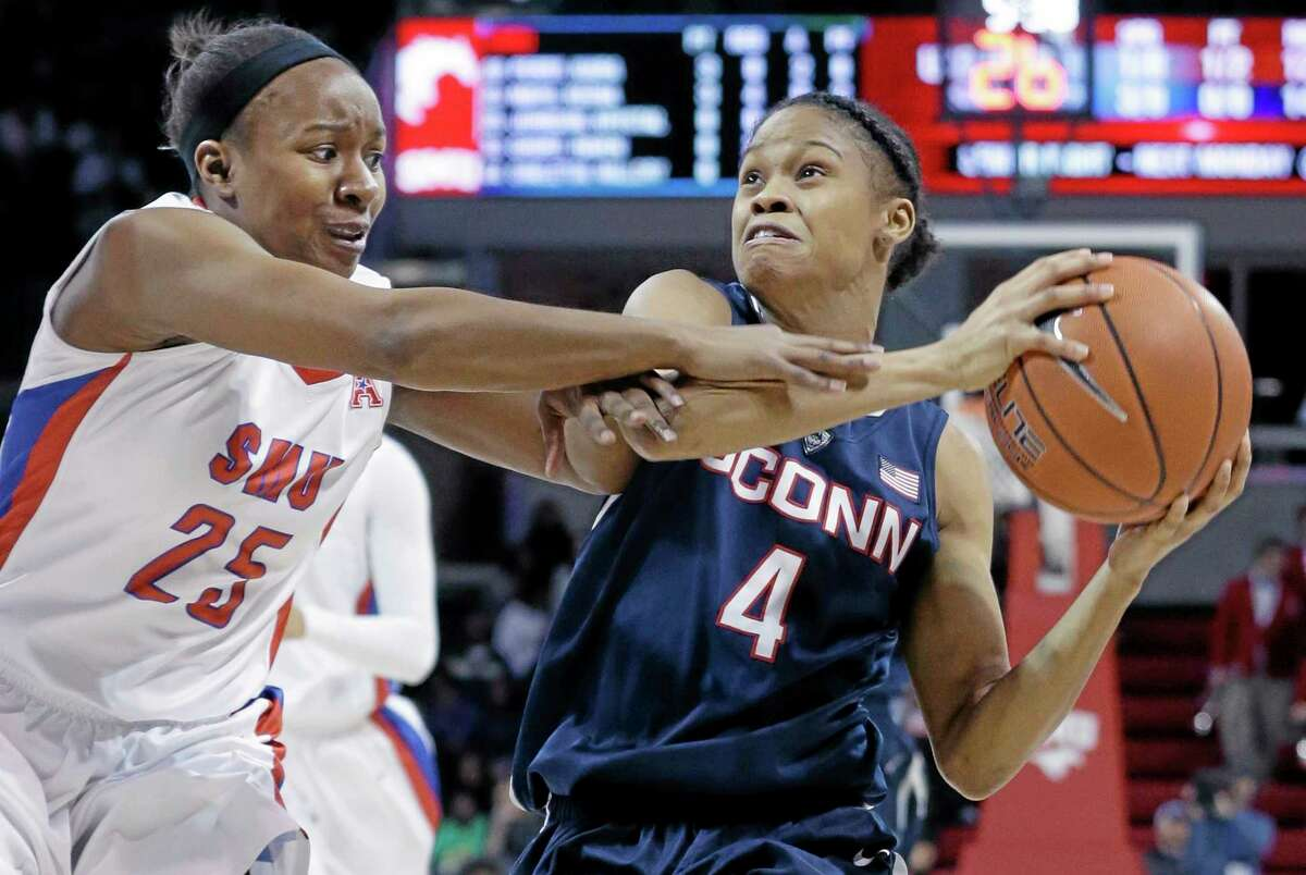 UConn sophomore guard Moriah Jefferson finished the regular season as the American Athletic Conference leader in assists and field goal percentage.
