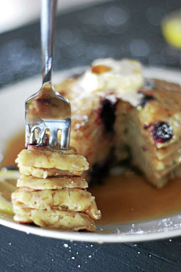 Vegan whole wheat pancakes from I.O.N. Restaurant in Middletown. Photo: Submitted Photo