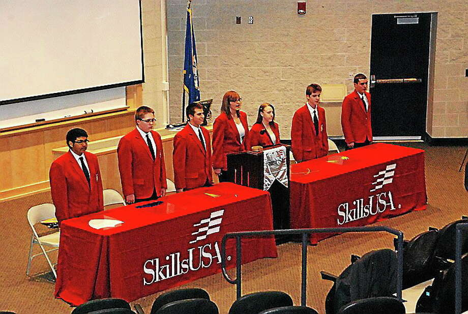 Last month, the Connecticut Delegation, a group of students representing the Connecticut Technical High School System, traveled to Kansas City, Missouri, to compete in the SkillsUSA Championships, and four Vinal students brought home awards to Middletown. Photo: Courtesy SkillsUSA