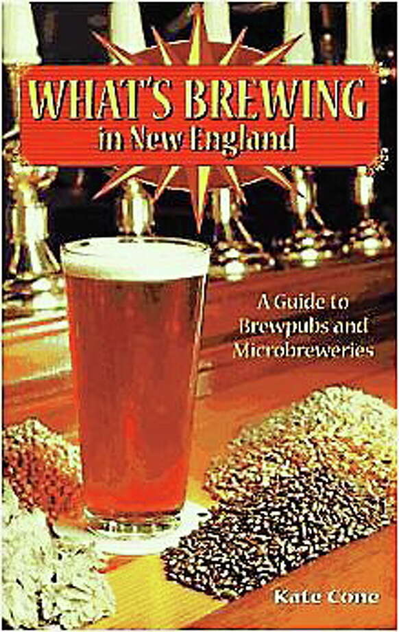 Kate Cone, author of ìWhatís Brewing in New England: A Guide to Brewpubs and Microbreweriesî will tour of some of the stateís newest craft breweries beginning in Middletown. Courtesy Down East Books. Photo: Journal Register Co.
