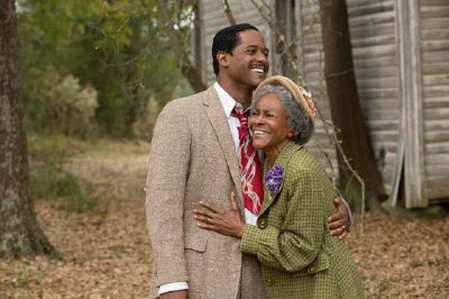 "LIFETIME CHANNEL Blair Underwood and Cicely Tyson star in ""The Trip to Bountiful,"" premiereing Saturday on the Lifetime Channel. Photo: Lc / Copyright 2012 Bob Mahoney"
