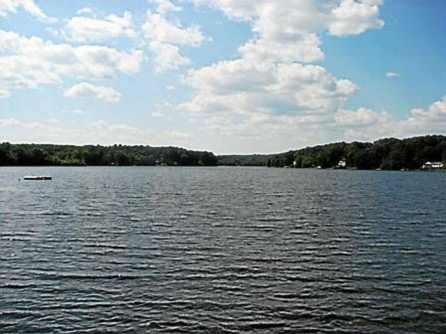Lower Moodus Reservoir in East Haddam Photo: Courtesy State DEEP