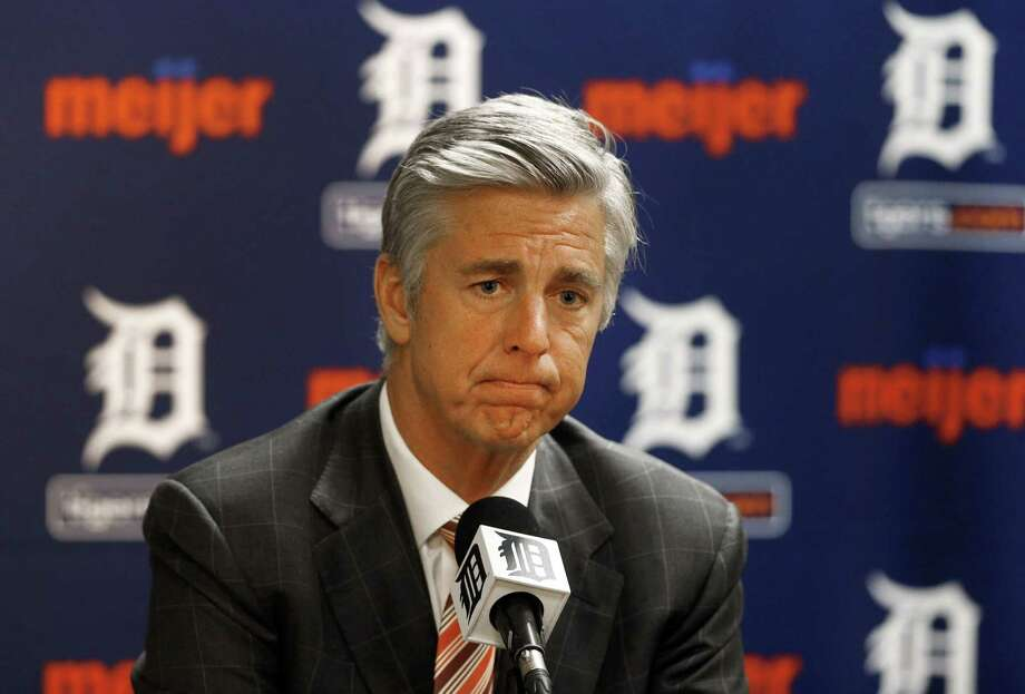 The Detroit Tigers announced that Dave Dombrowski is out as president and general manager. Photo: Paul Sancya — The Associated Press File Photo  / AP