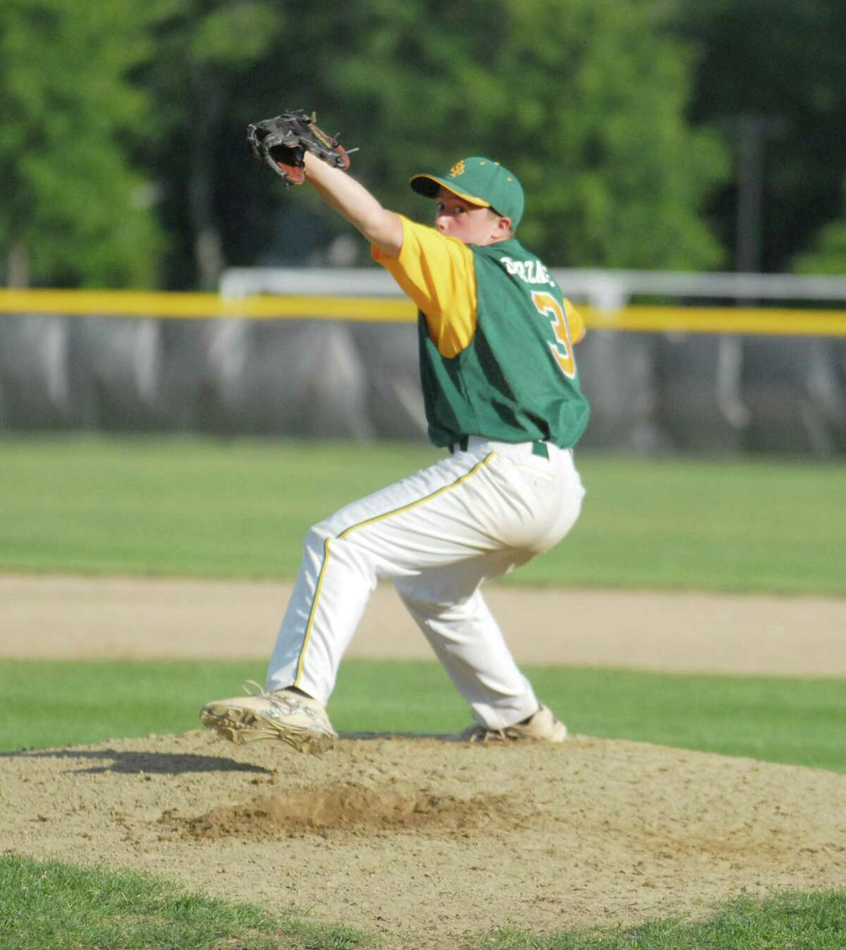 RCP's Cole Ogorzalek will be the starting pitcher when Post 105 faces Colchester (VT) today in the opening game of the Northeast Regional tournament at Muzzy Field in Bristol.