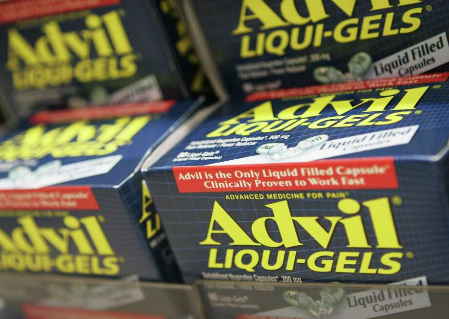 In this Oct. 5, 2006 photo, boxes of Advil Liqui-Gels are shown in New York. According to national surveys of parents and sixth-graders, tweens got a failing grade for knowledge about the proper use of over-the-counter medicines. Only about half knew such medicines can be dangerous when improperly used or mixed with other drugs. Photo: AP Photo/Mark Lennihan, File  / AP