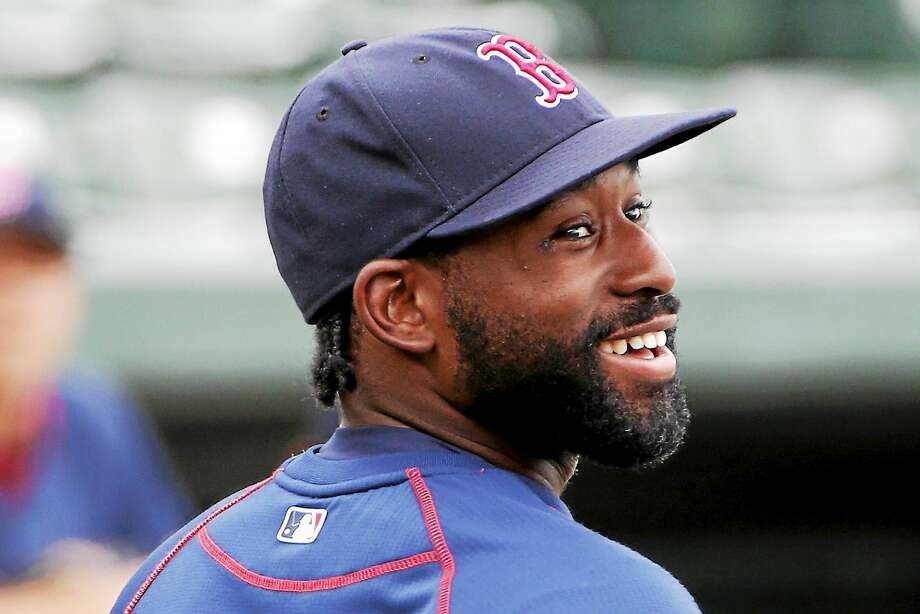 Boston Red Sox's Jackie Bradley Jr. waits his turn in the batting cage before a spring training exhibition baseball game against the Baltimore Orioles in Sarasota, Fla., back in March.  (AP Photo/Gene J. Puskar) Photo: AP / AP