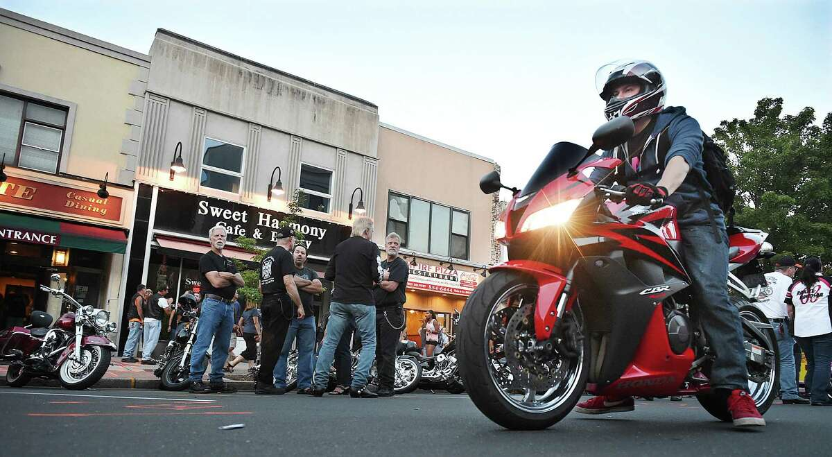"""Five thousand motorcycles converged on Main Street in Middletown in what may have been the largest showing of bikes in the history of Middletown's Motorcycle Mania last year. The 9th annual event, sponsored by the Middlesex County Chamber of Commerce, featured musician Elliot Lewis, who has appeared on """"Live from Daryl's House on the Music Channel,"""" with Daryl Hall of Hall & Oates."""