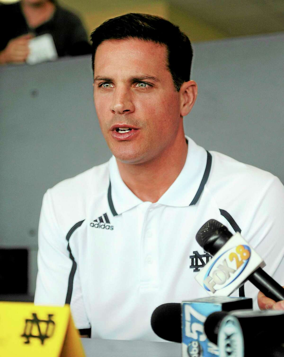 File The Middlesex County Chamber of Commerce August member breakfast meeting features keynote speaker UConn Head Football Coach Bob Diaco in Cromwell.