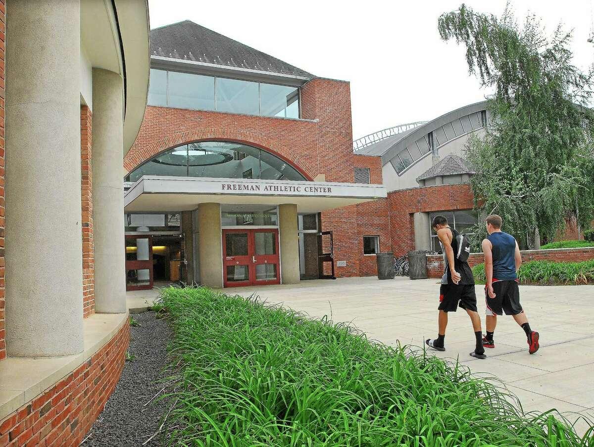 Freeman Athletic Center at Wesleyan University in Middletown