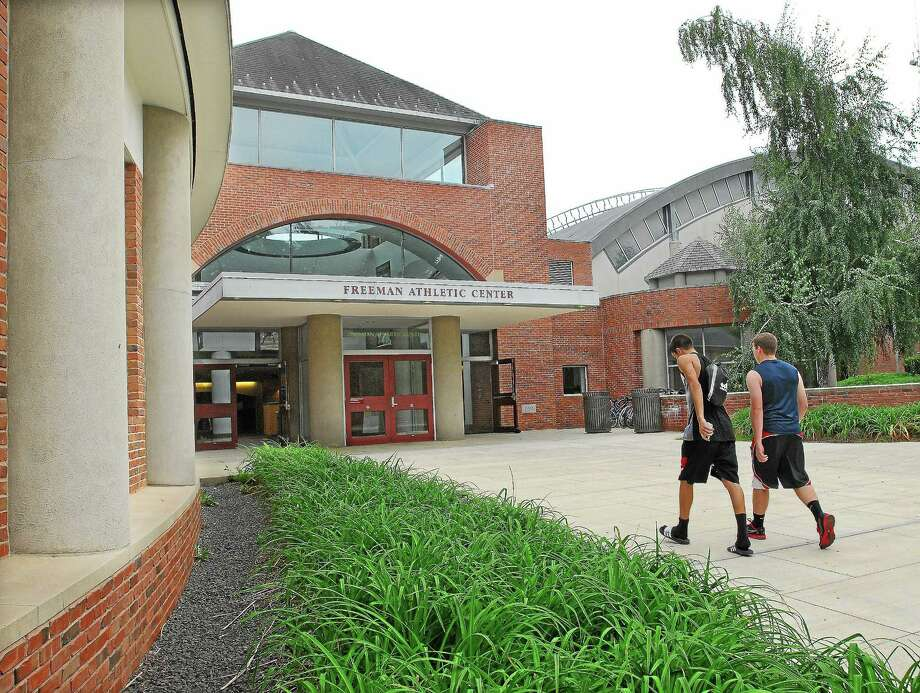 Freeman Athletic Center at Wesleyan University in Middletown Photo: Catherine Avalone - The Middletown Press