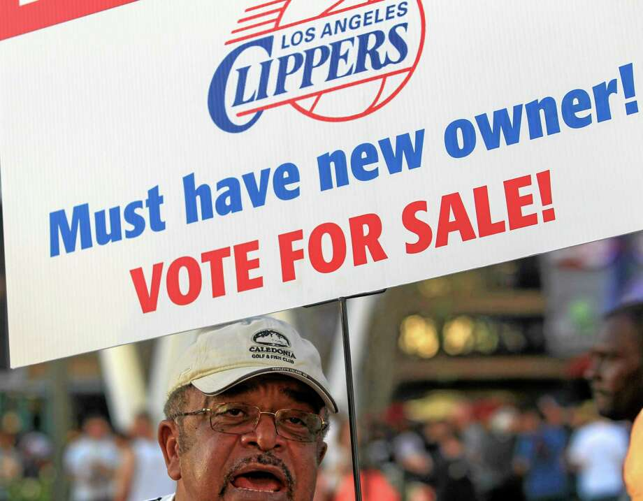 The NBA owners' advisory and finance committee will hold a meeting on Thursday to discuss the next steps in the removal of Los Angeles Clippers owner Donald Sterling. Photo: Ringo H.W. Chiu — The Associated Press  / FR170512 AP