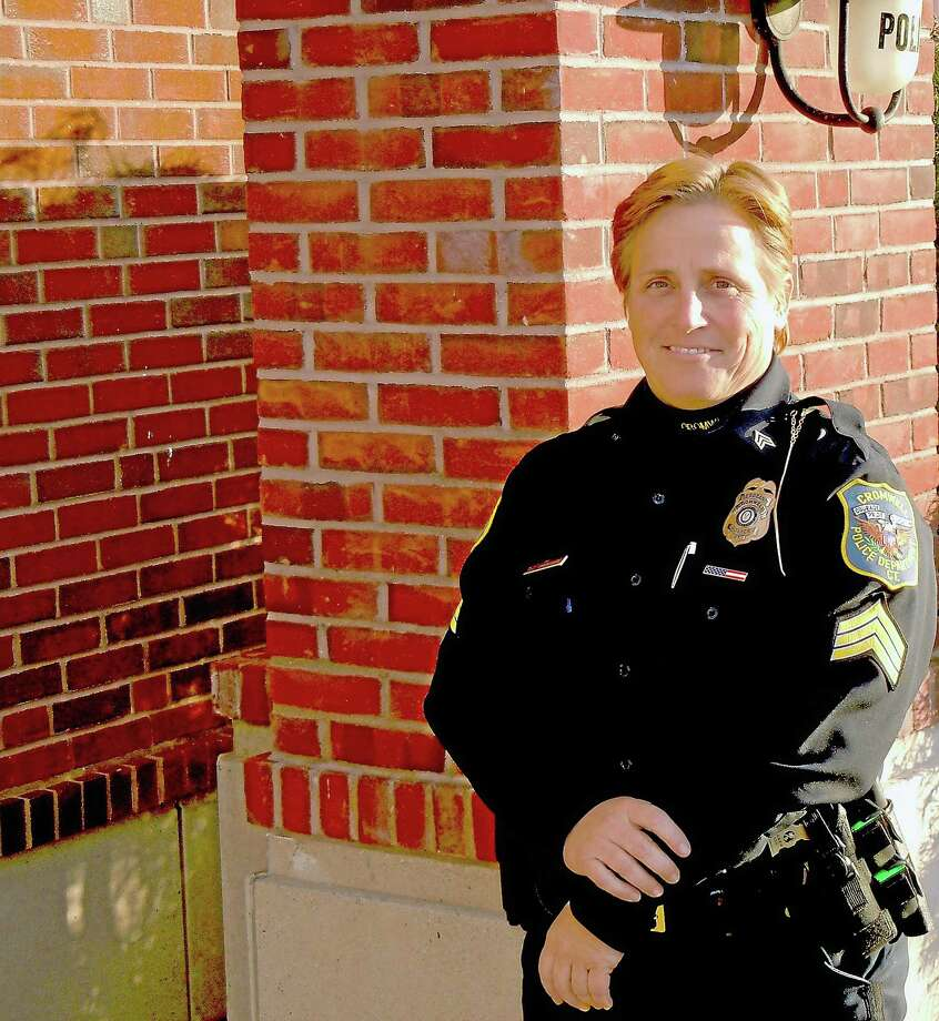 Cromwell Police Department photo ¬ Sgt. Denise Lamontagne is captain of the Cromwell Police Department. Photo: Journal Register Co.