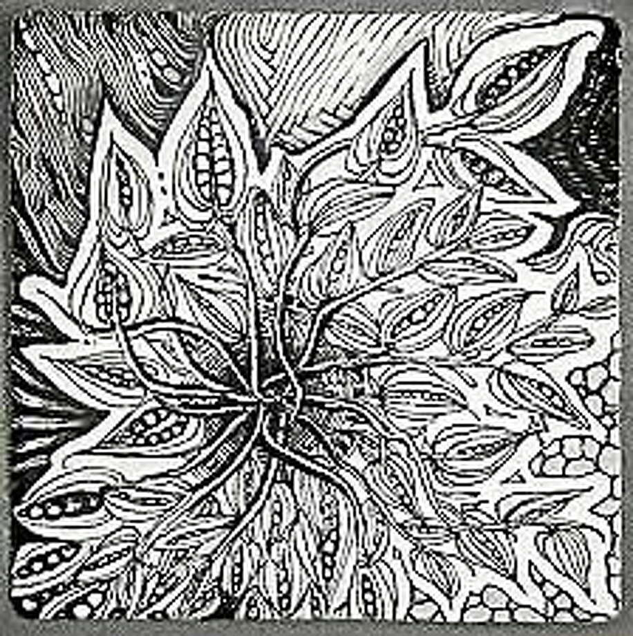 Submitted photo - Ann Grasso Ann Grasso will present The Art of Doodling: Historic to the current fashion of Zentangle, a trademarked method of doodling. Photo: Journal Register Co.
