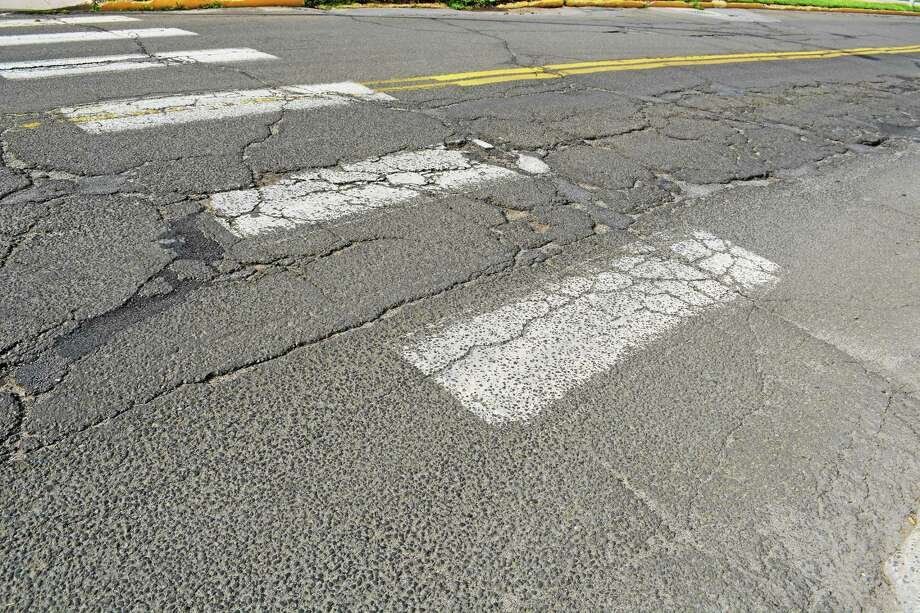 Durham's annual road chip sealing begins next week. Photo: Cassandra Day - The Middletown Press