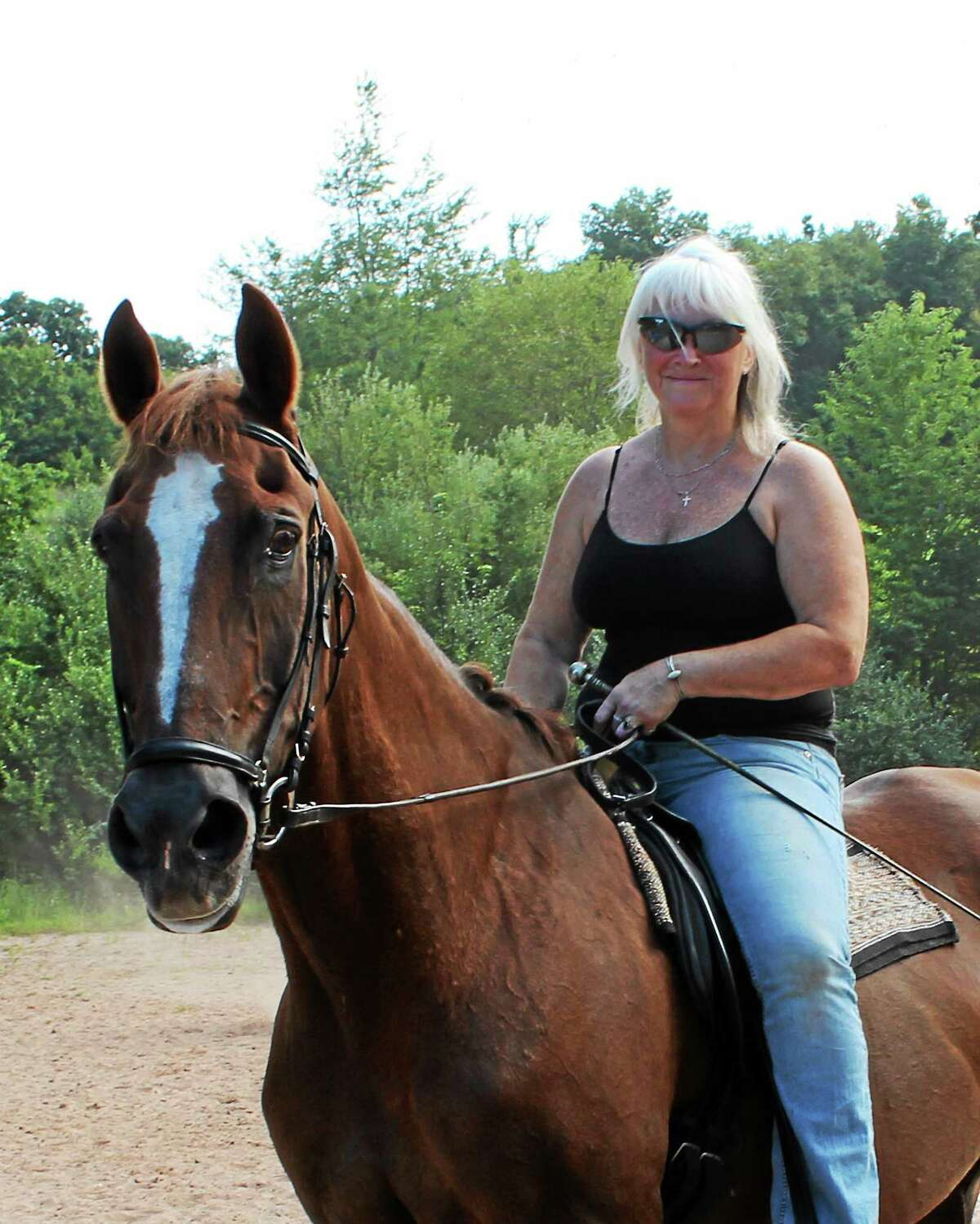 Kim Williams is hoping for help to continue to rent her Killingworth horse farm, the Windjammer.
