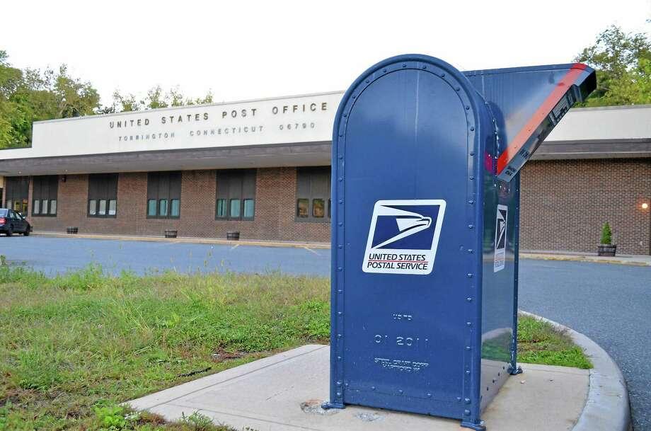 Register Citizen File Photo The post office in Torrington. Photo: Journal Register Co.