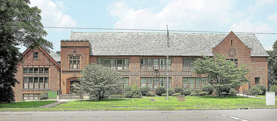 Catherine Avalone - The Middletown Press ¬ The Brownstone Intermediate School in Portland is seen in this 2008 file photo. Photo: Journal Register Co.